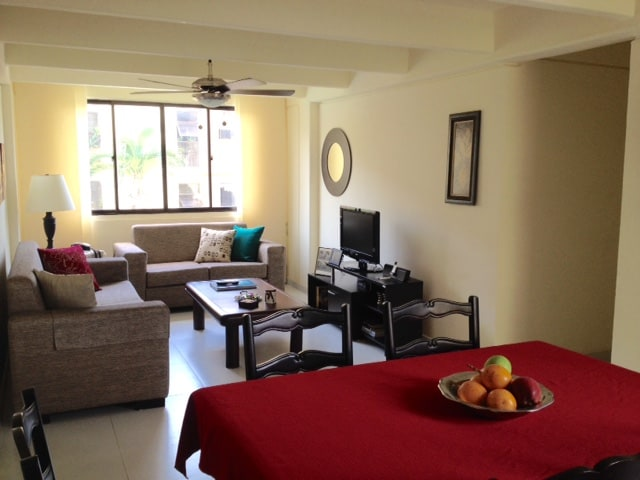 Fully furnished condo in B/quilla!