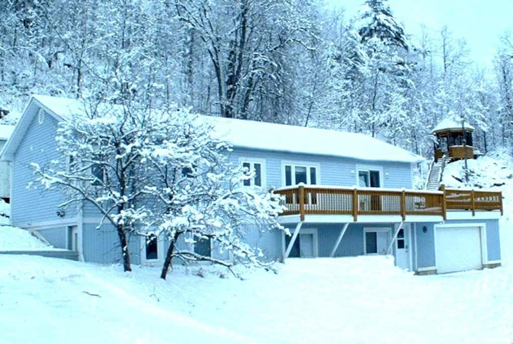 Chalet Blue full house d es - Lac-Sainte-Marie - Chalet