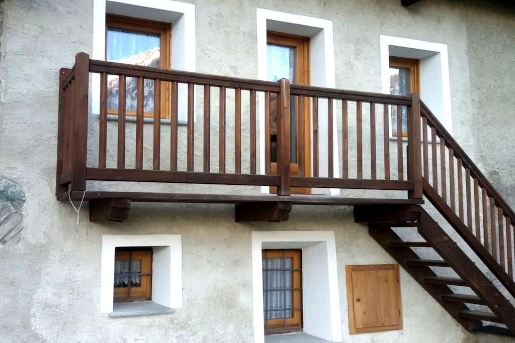 Flat with stunning view over the Valtournenche - Valtournenche - Daire