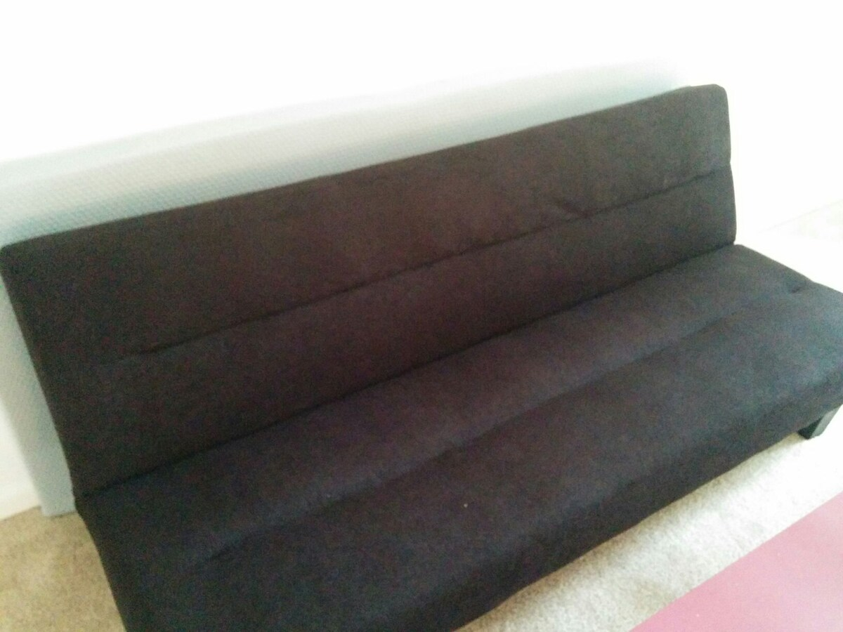 Comfortable couch for budget travel