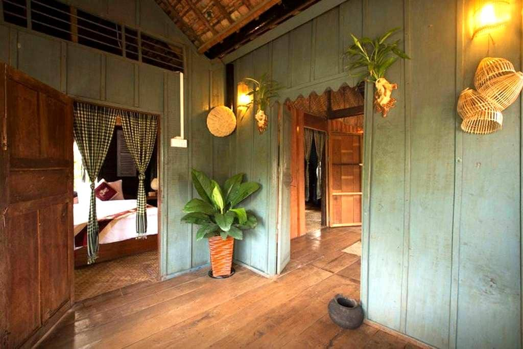 Old Khmer House 2Beds (BF+Pick Up) - Krong Siem Reap