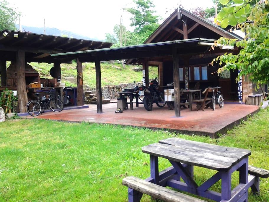 Cabaña de madera estilo nordico - Oriente de Asturias