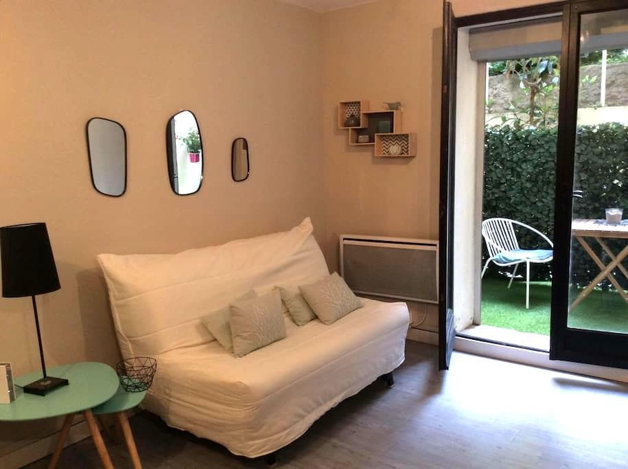 Studio+terrasse au calme Bd Baille - Marseille - Apartemen
