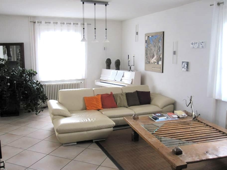 Nice furnished house close to airport and UN - Le Grand-Saconnex - Hus
