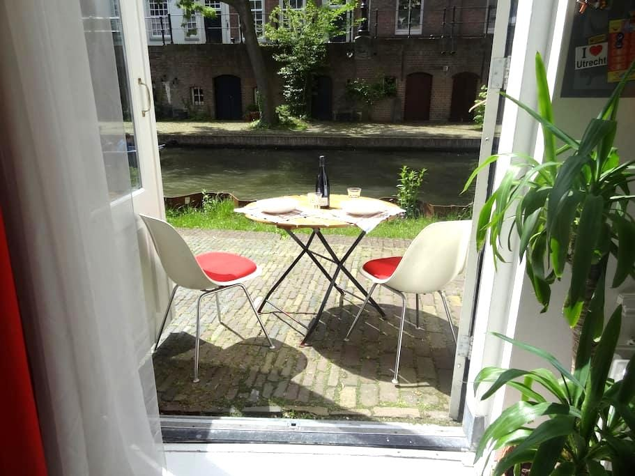 Ground floor apartment at the canal - Utrecht - Apartment