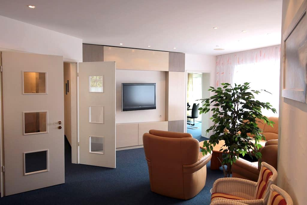 Große exklusive Wohnung in Memmingen - Memmingen - Apartament