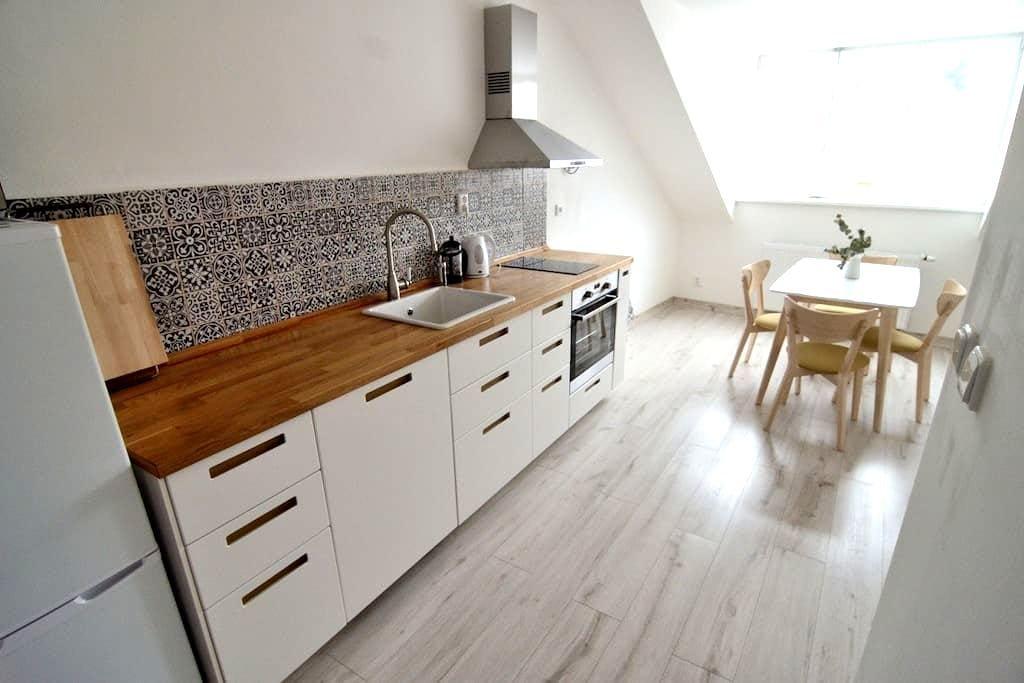 Prostorný světlý byt na náměstí - Kašperské Hory - 公寓