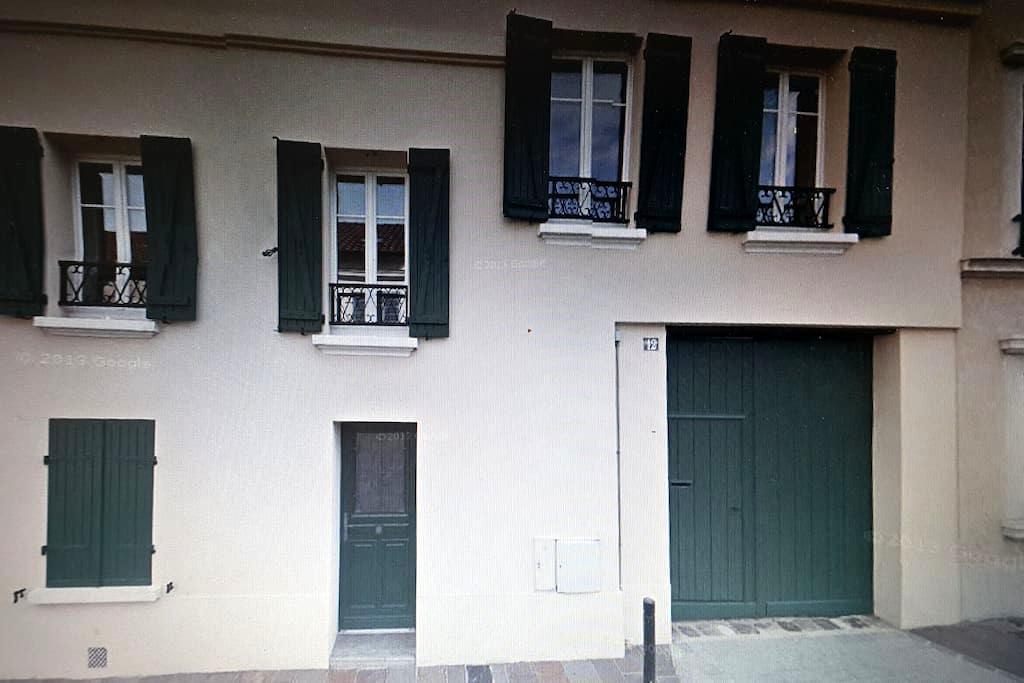 Studio dans cour privative - Nanterre - Leilighet