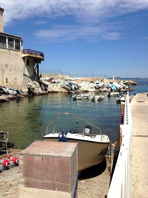 Corniche  apt de charme à 2 pas/Mer - Marseille - Apartmen