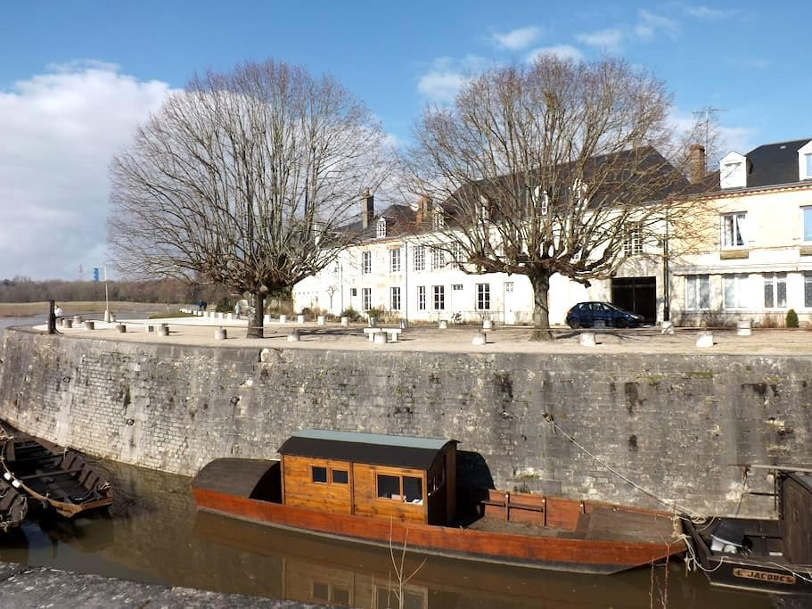 Maison sur île de Loire, proche d'Orléans - Combleux - Flat
