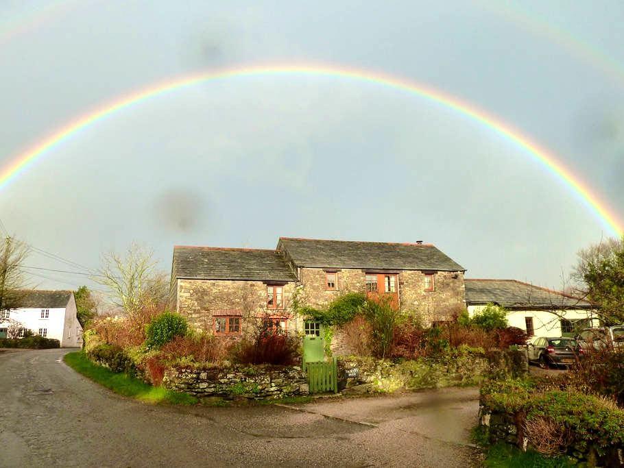 Truscott Barn, Truscott, Cornwall - Yeolmbridge - Hus