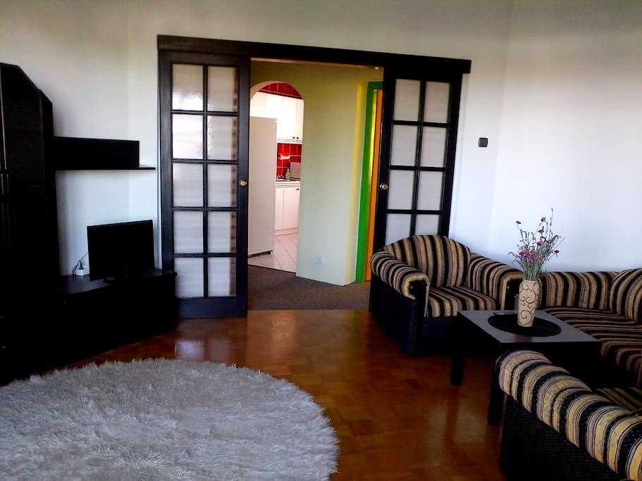 Apartament with the city's view - Białystok