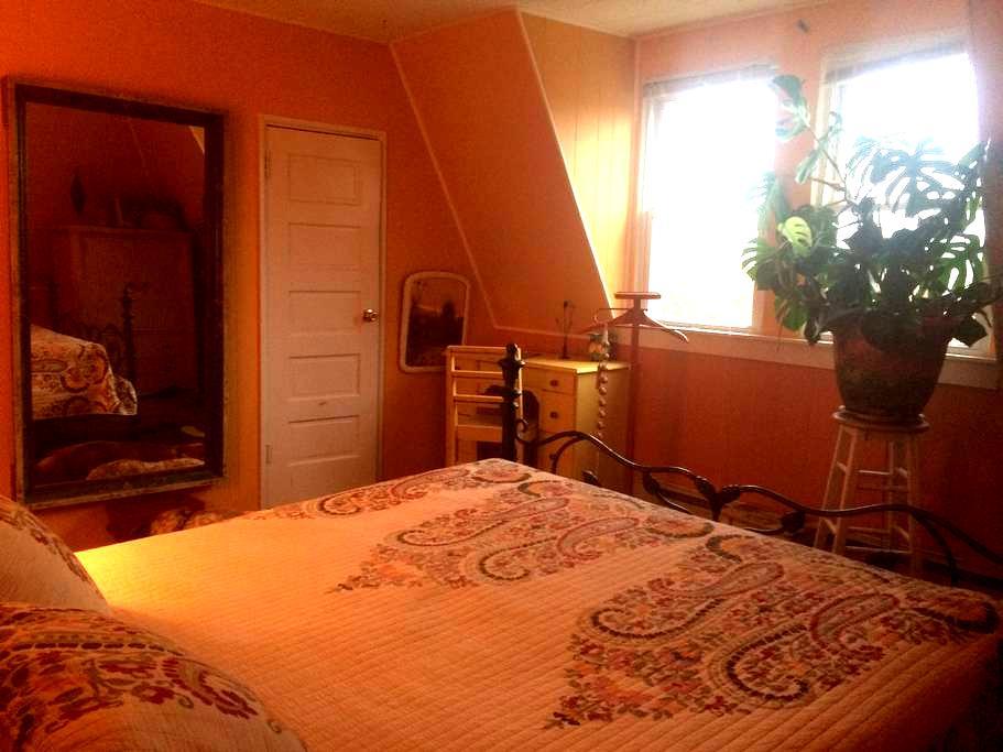 Sunny, Private room in Historic OC - Ocean City - Casa