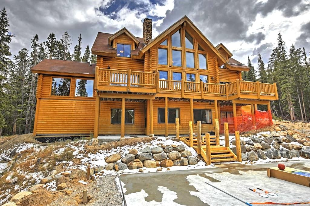 NEW! 6BR Alma Cabin w/Spectacular Mtn. Views! - Alma - Chalet