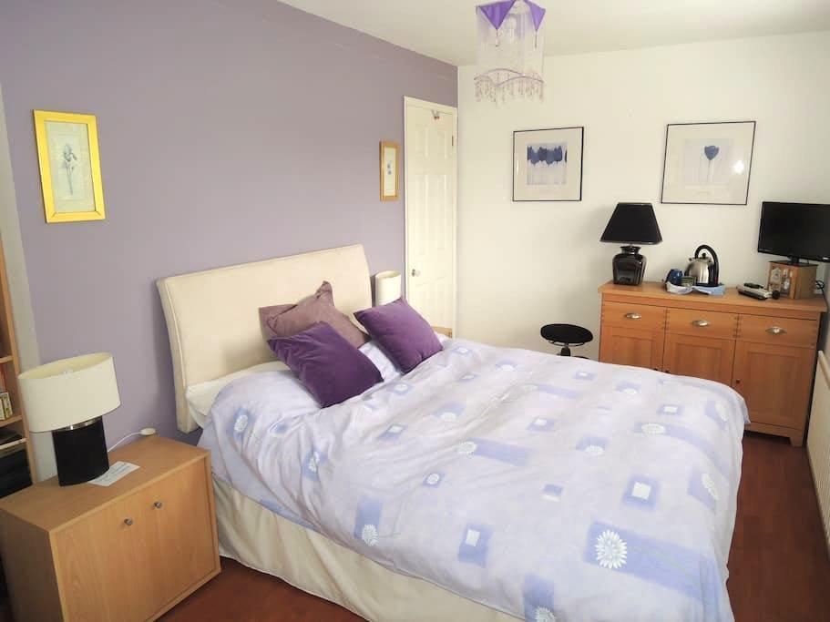 Cozy bedroom in a small Hamlet in Wales - Coedway - Casa