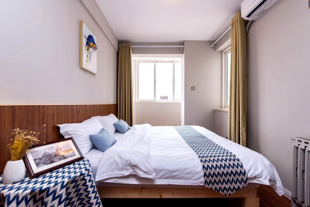 2 Bedroom Apartment Downtown香港中路双卧套房 - Qingdao - Apartemen