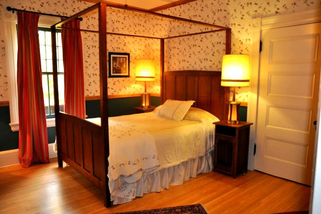 "1880 Victorian Brick B&B ""Frog Room"" - Oberlin - Bed & Breakfast"