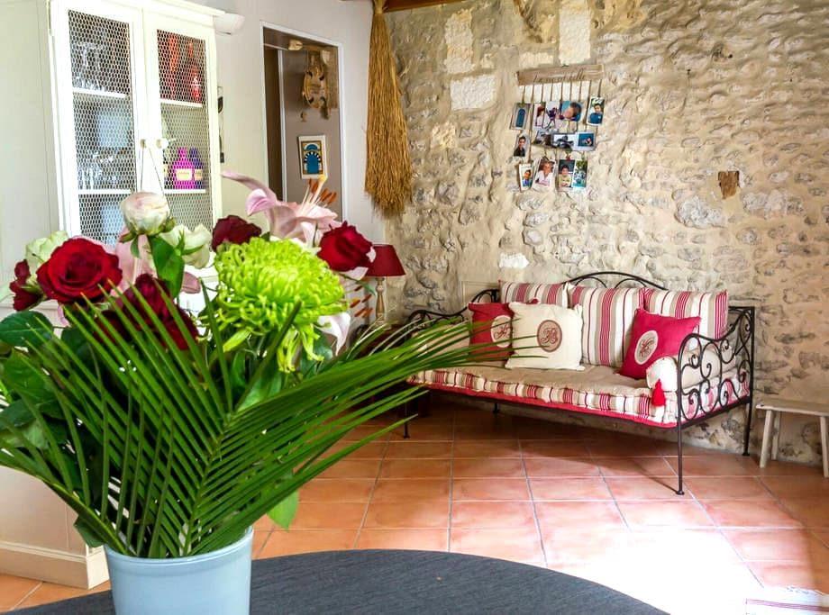 Maison de charme proche de Cognac - Javrezac - Casa