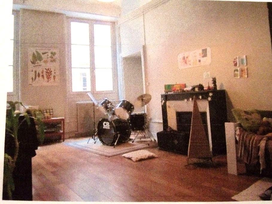 Chambre spacieuse 2 lits simples CV - Chalon-sur-Saône - Apartment