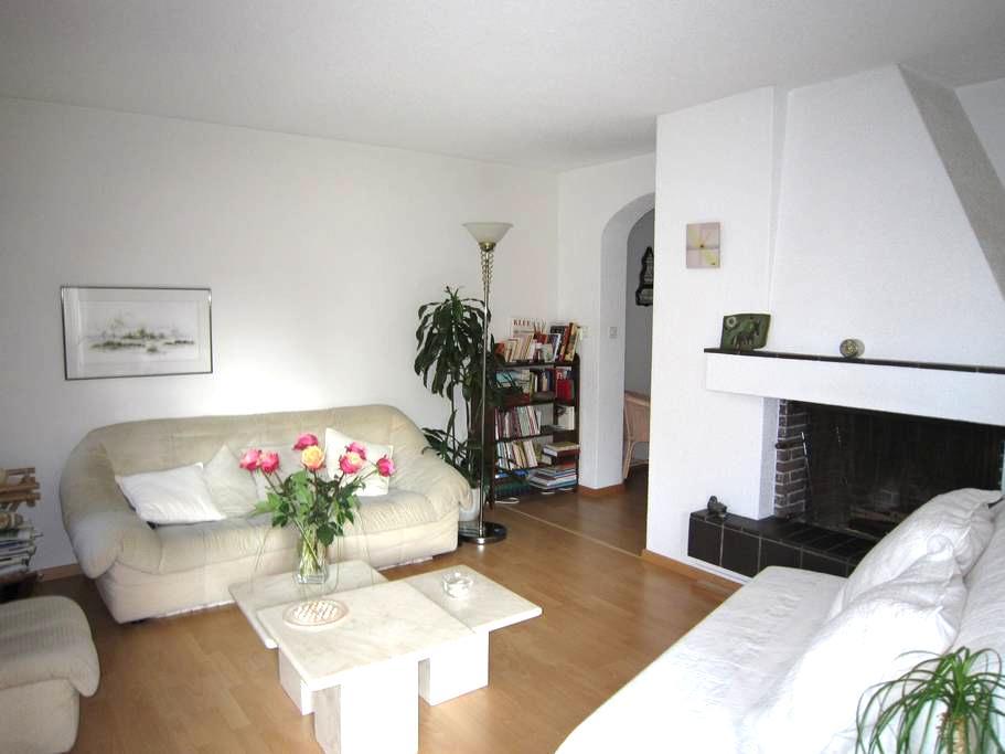 Stadt, Land, Fluss,Bad - Zurique - Apartamento