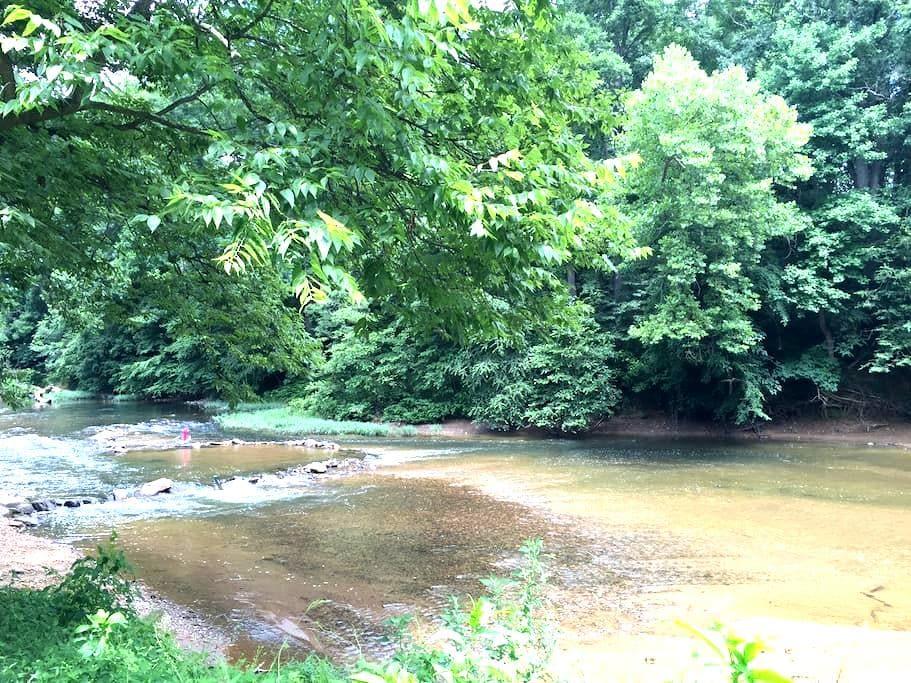 River Hills Camping - Riverbank Campsite - Culpeper - Tent