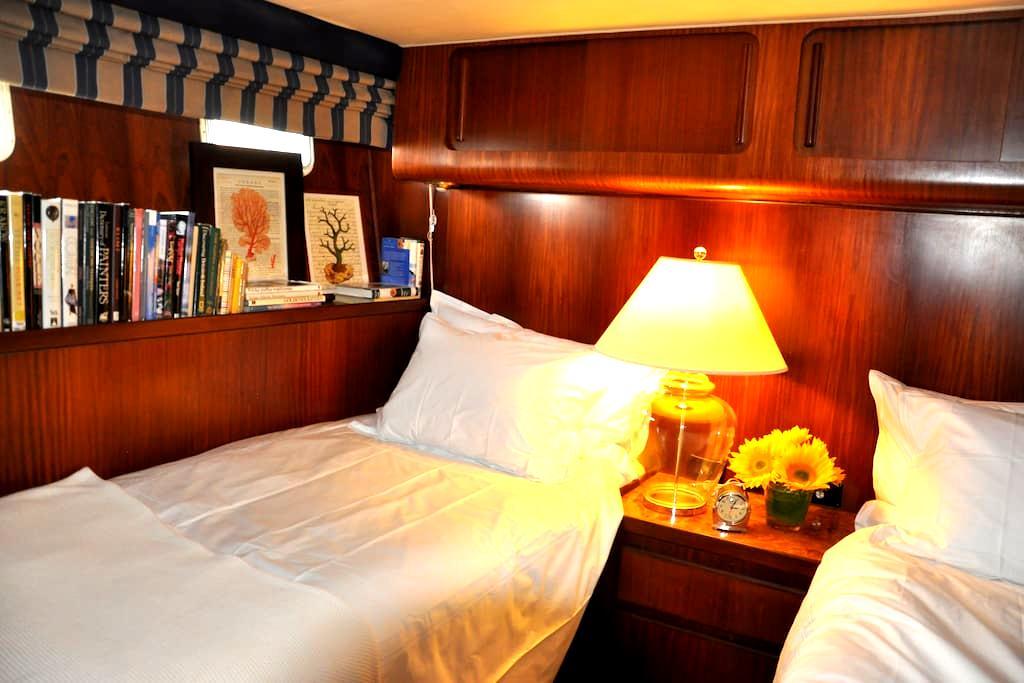 Sleep on 70' Yacht Cabin in your cabin (Atlantic) - San Diego - Boot