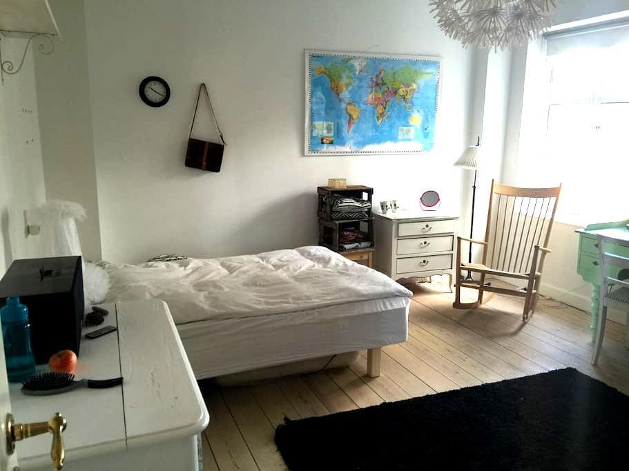 Stort hyggeligt værelse midt i Svendborg centrum. - スベンボル