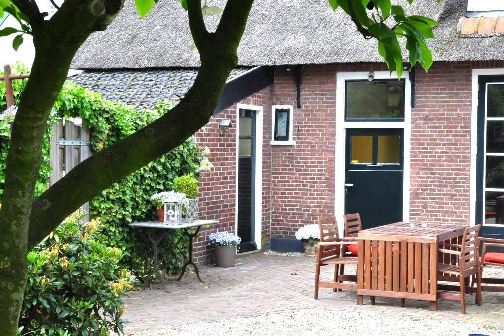 Your own cottage near Amsterdam - Huizen - Talo