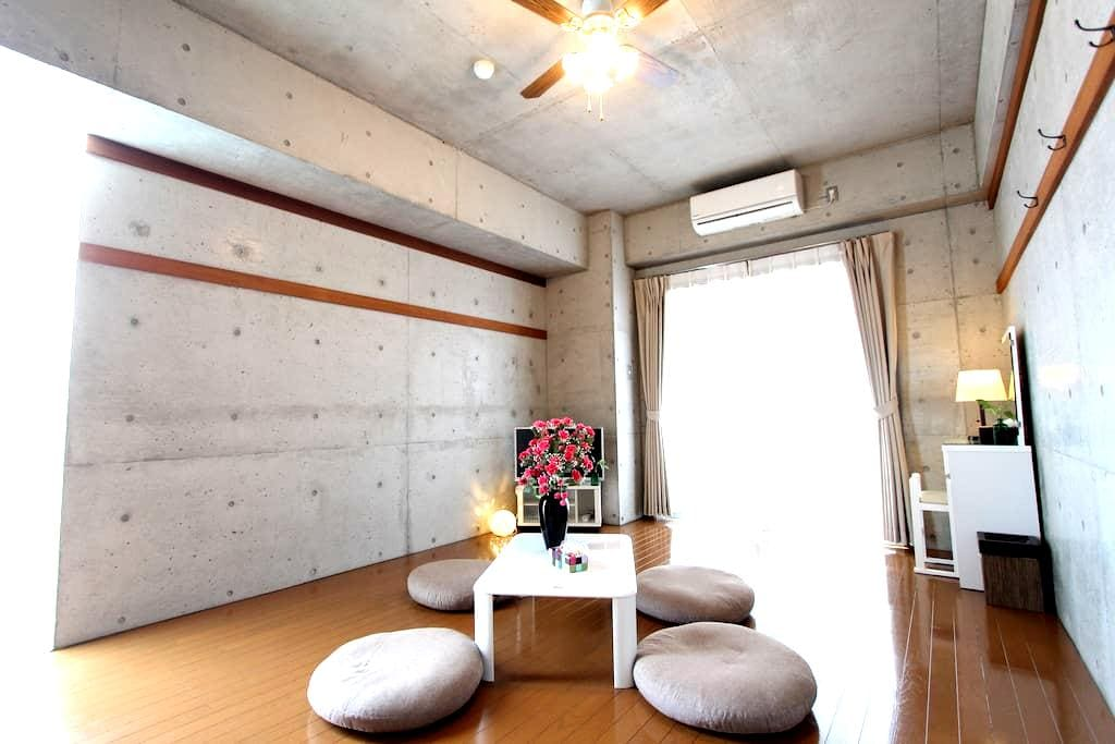 autumn-campaign!Studio by beach for 4 ppl! Rm 403 - Chatan-chō - Apartment