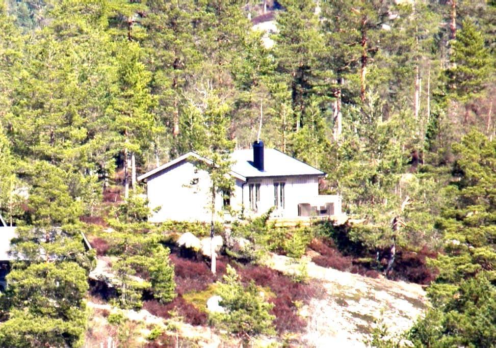 Hüttchen in der Telemark, NO - Felle - Chatka