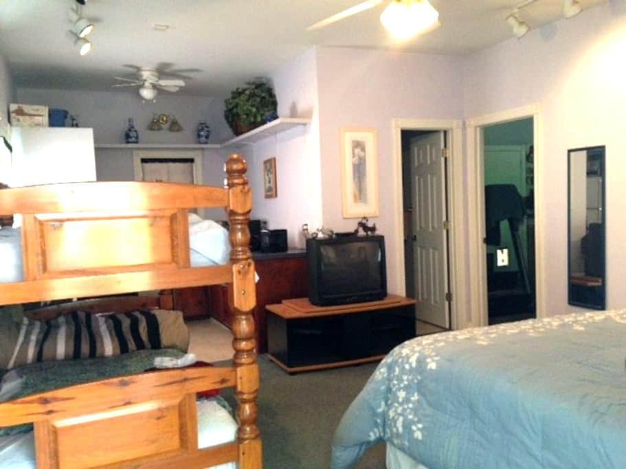 Private Suite 3 beds, full bath w/ kitchenette - Darlington - Appartement