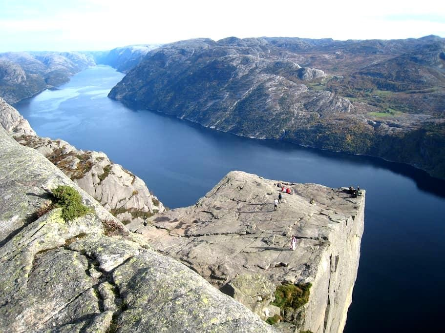 Rooms near to the Pulpit Rock/ Preikestolen - Jørpeland - Pis