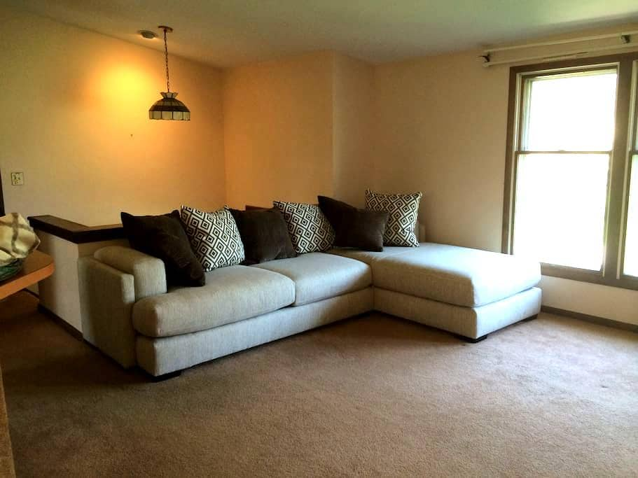 Private guest room in cozy & quiet home - Liverpool - Dom