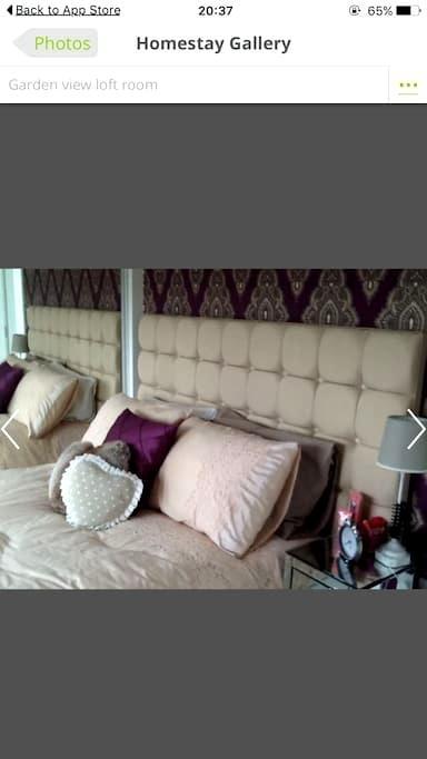 Beautiful en-suit loft room - Luton - Huis