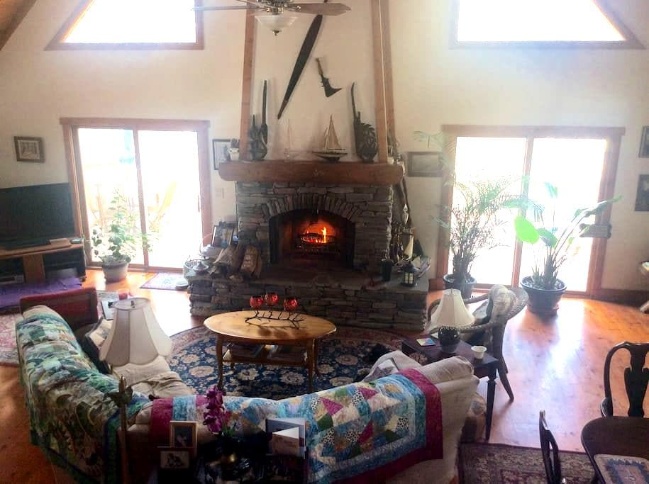 Pet Friendly House in GA Mountains - Toccoa - Bed & Breakfast