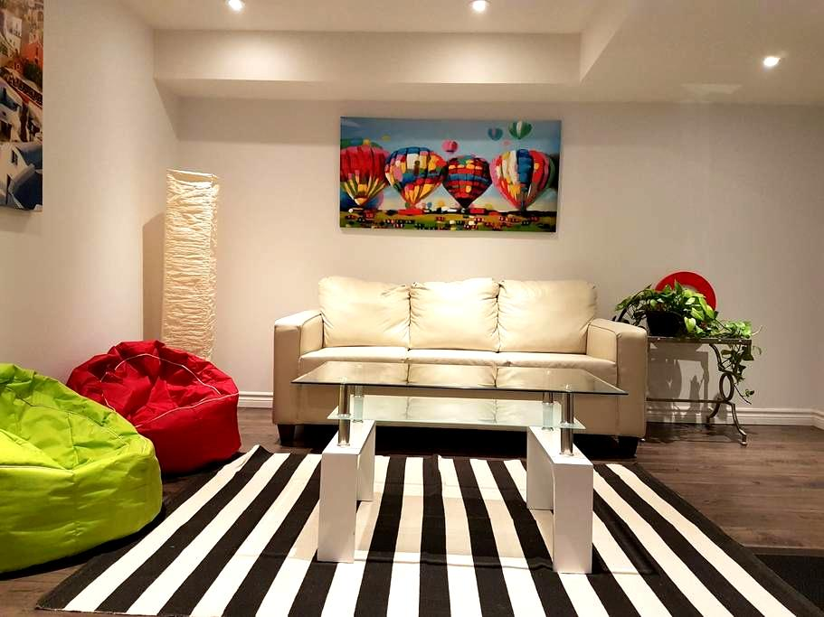 Luxury Home, Organic food, 1 km UWO - Suite 2 - London - Haus
