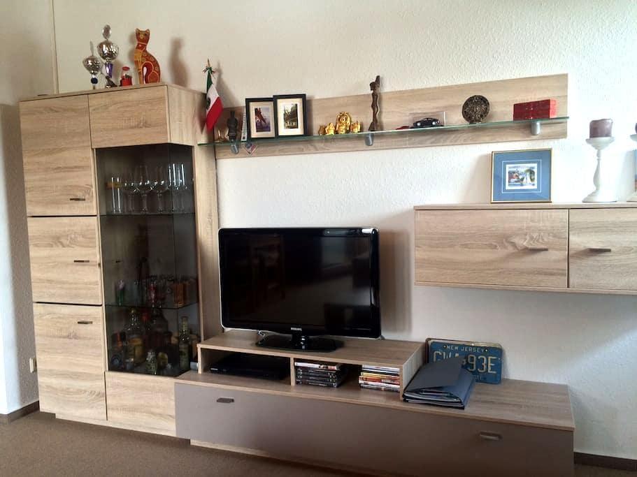 Moderne 2-Zi-Wohnung mit Balkon, 10min zum See - Radolfzell - Wohnung
