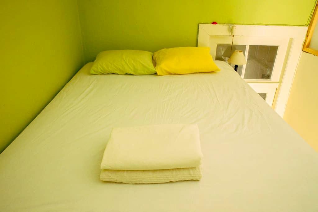 Lovely Green Room in Center of Porto - Порту