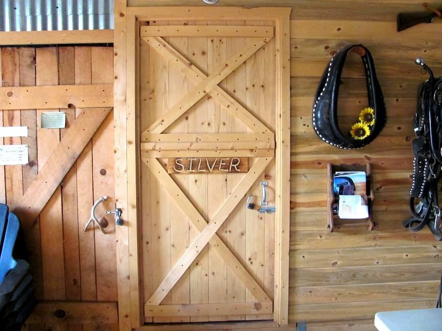 Horse Barn Silver Room Cabin - Monticello
