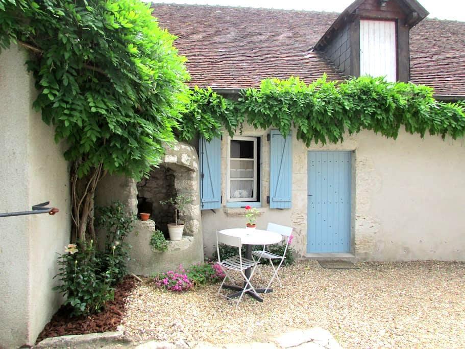chambre à st dyé port de chambord - Saint-Dyé-sur-Loire - Casa