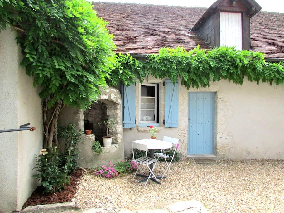 chambre à st dyé port de chambord - Saint-Dyé-sur-Loire - Haus