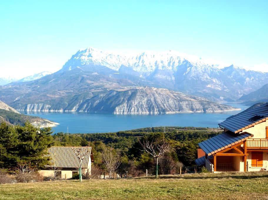 Lac et montagne - Rousset - บ้าน