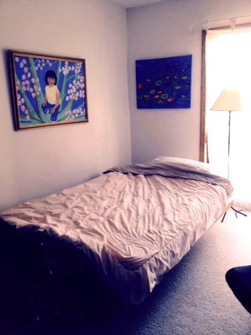 Sunny and cozy private room - Wilmette - Квартира