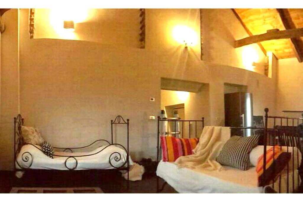 Cascine Pallavicini, Sansalvà app.3 - Santena - Apartamento