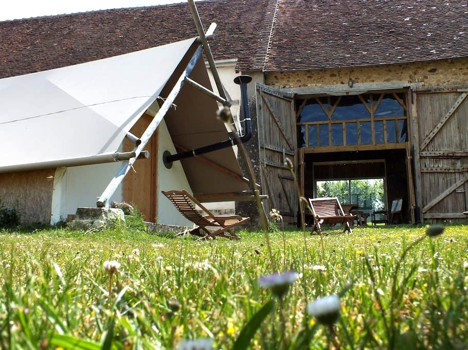 Couchage insolite - Romilly-sur-Aigre - Tent