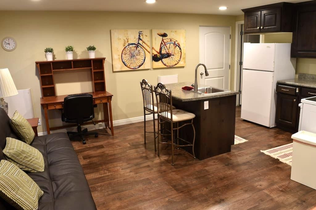Basement Apartment w/ Private Entry - Orem - Appartement