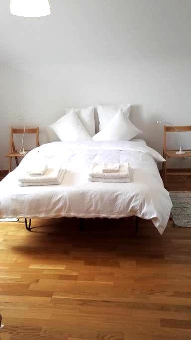 Stadt Aarau 5 Gehm. HB Zimmer1 in Gästewohnung - 아라우 - 아파트