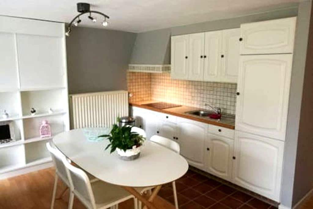 Studio charmant sur les hauteurs de Malmedy - Malmedy - Leilighet