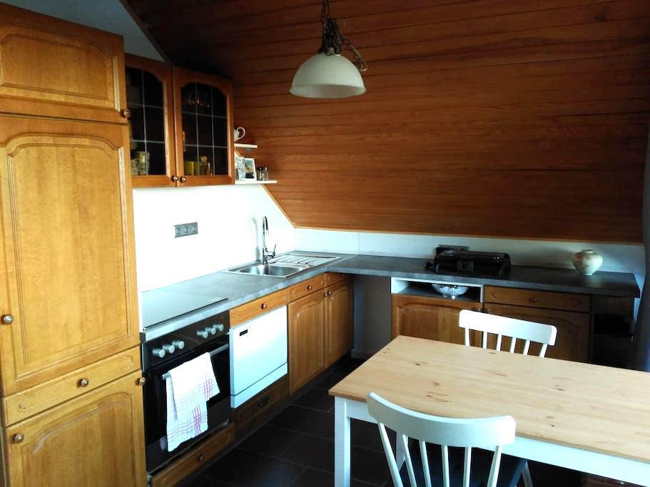 Loggiazimmer mit Küche und Bad in Himmelsthür - Hildesheim - Ev