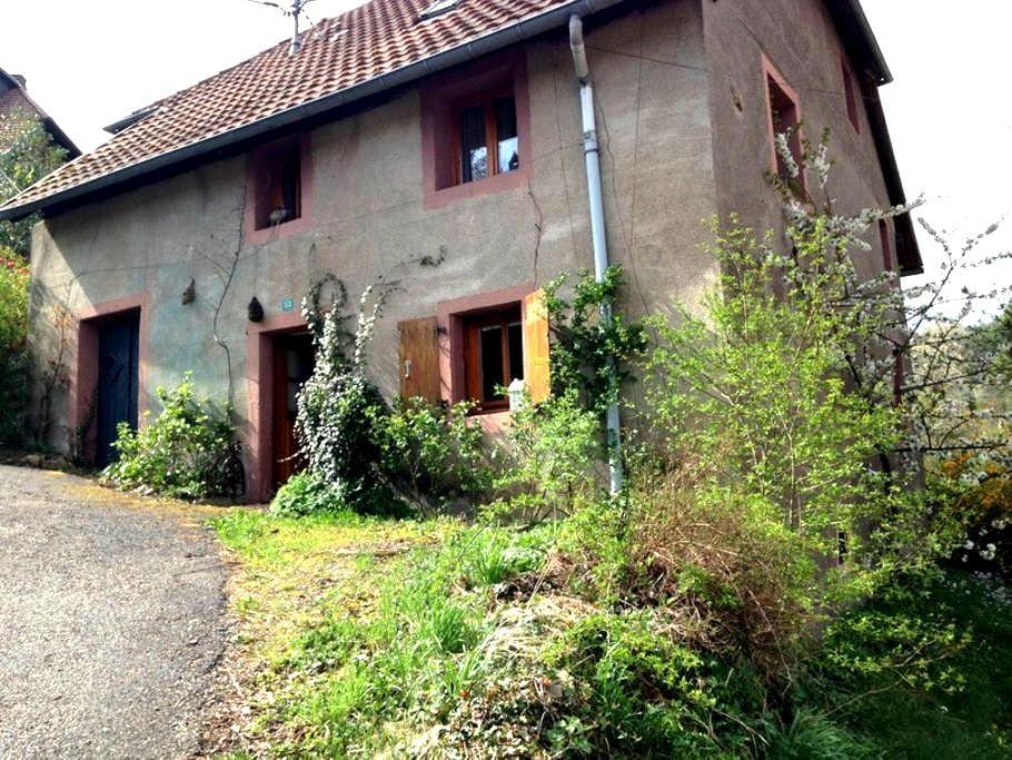 ancienne fermette,charmante et cosy - Wildersbach - House